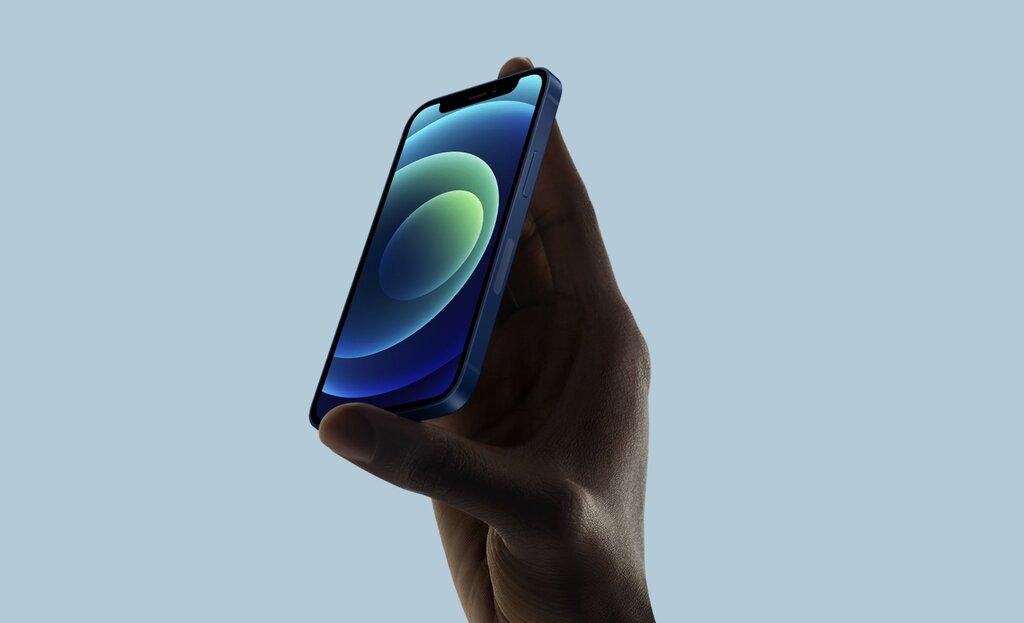 iOS 15 iPhone 12 mini