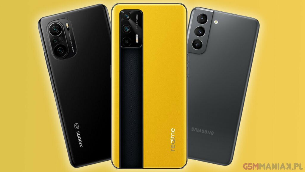 realme GT 5G vs Xiaomi Mi 11i v Galaxy S21