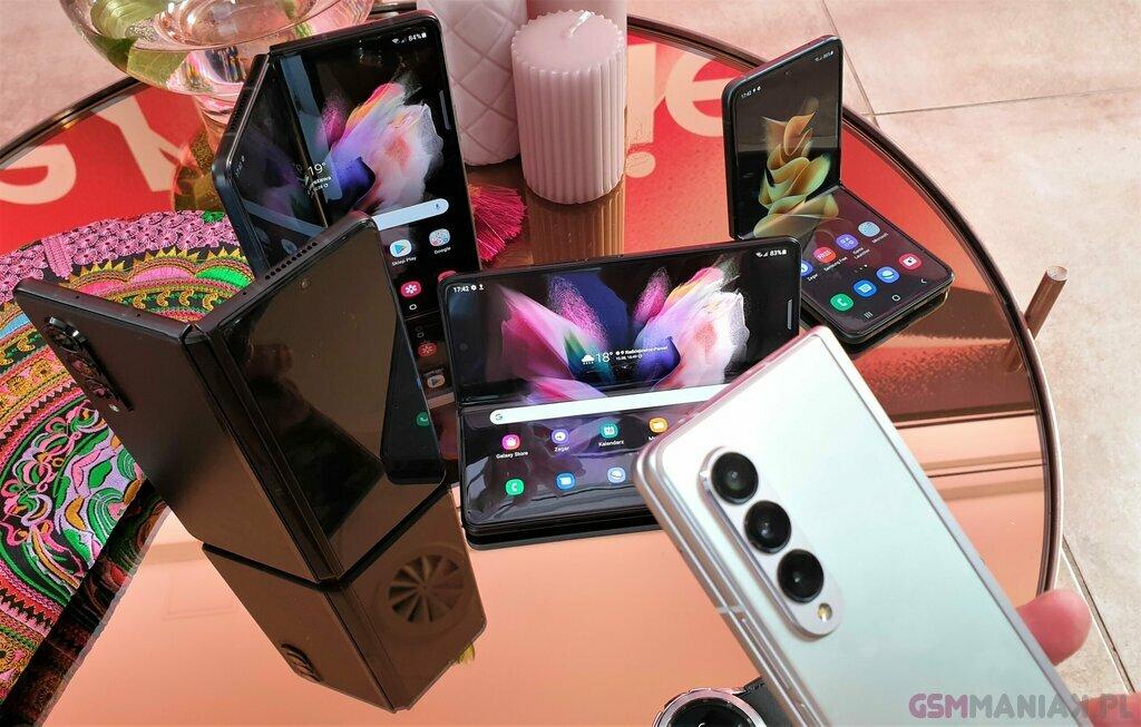 Samsung Galaxy Z Fold 3 i Z Flip 3