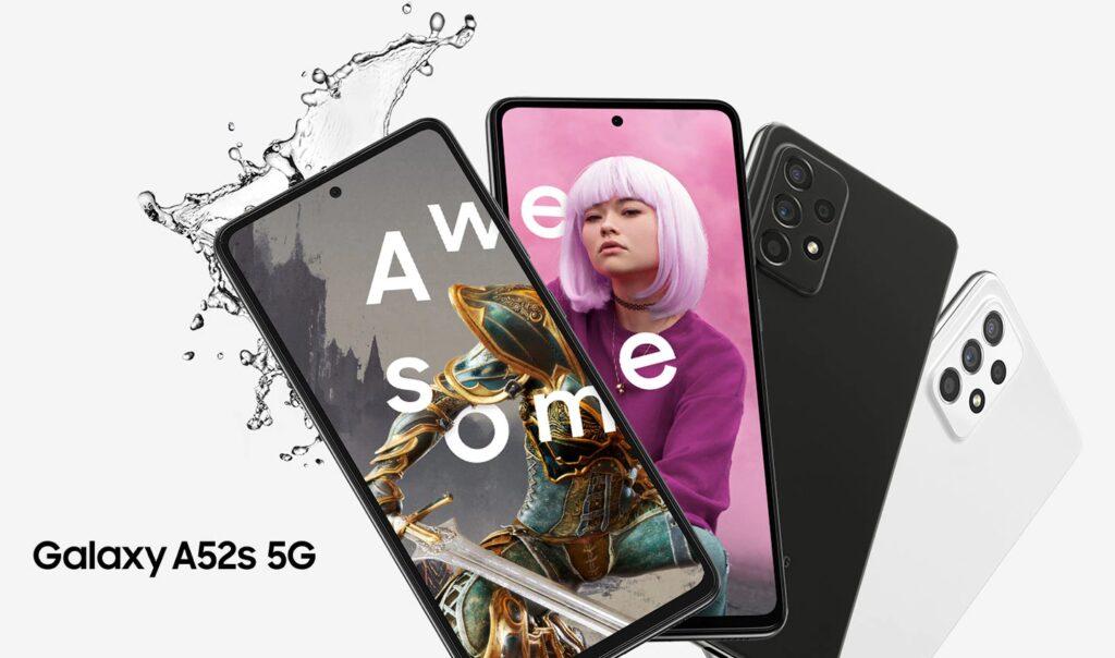 Samsung Galaxy A52s 5G / fot. producenta