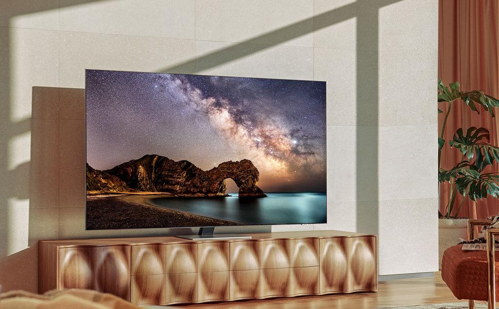 Telewizor Mini LED Samsung QN91A wprowadza sport i granie na wyżyny